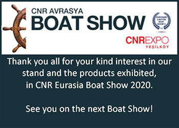 Blues Yachting was at the 2020 Eurasia Boat Show