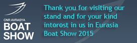 Blues Yachting at the Eurasia Boat Show 2015