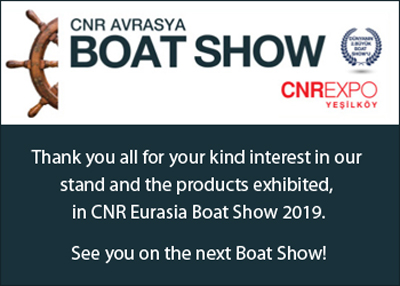 Blues Yachting was at the 2019 Eurasia Boat Show