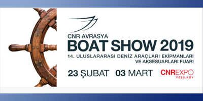 Blues Yachting at the 2019 Eurasia Boat Show